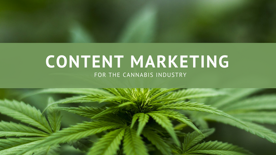 CONTENT MARKETING services for the cannabis industry